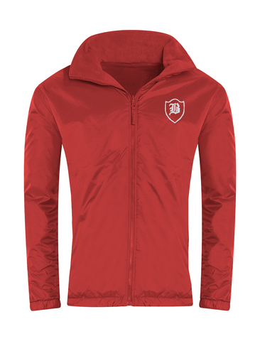 Barnes Infant Academy Red Showerproof Jacket