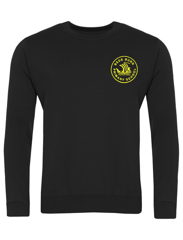 Bede Burn Primary School Black Sweatshirt