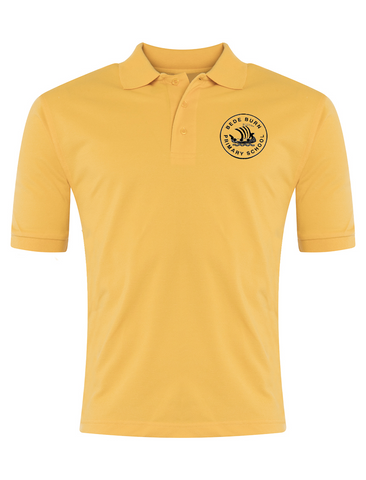 Bede Burn Primary School Yellow Polo