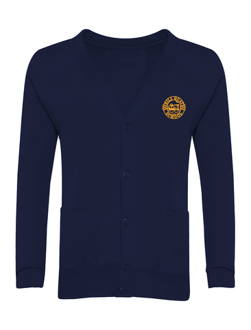 Bill Quay Primary School Navy Cardigan