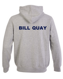 Bill Quay Primary School Back of Grey Hoodie
