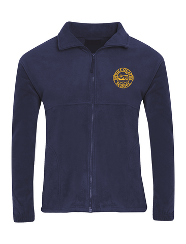 Bill Quay Primary School Navy Fleece Jacket
