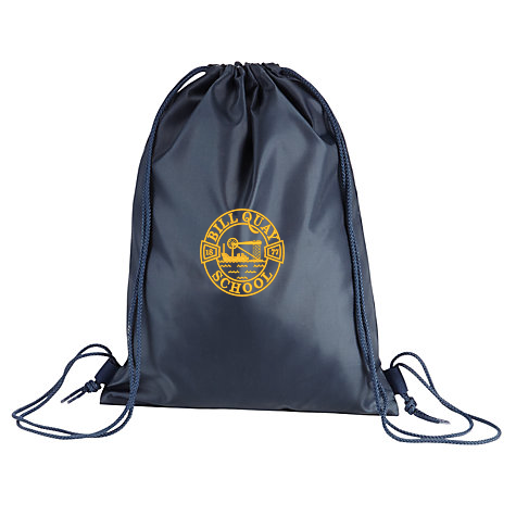 Bill Quay Primary School Navy Gym Bag