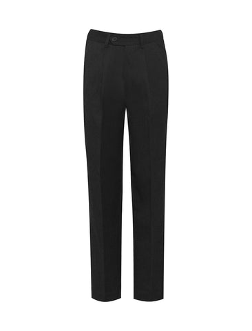 Wellfield School in Wingate, County Durham Black Putney Junior Pleat Boys Trousers