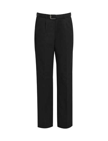 Men's Black Waisted Trouser's