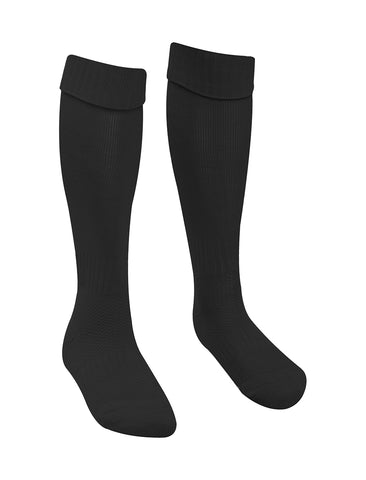 The Venerable Bede Academy Black P.E. Football Socks