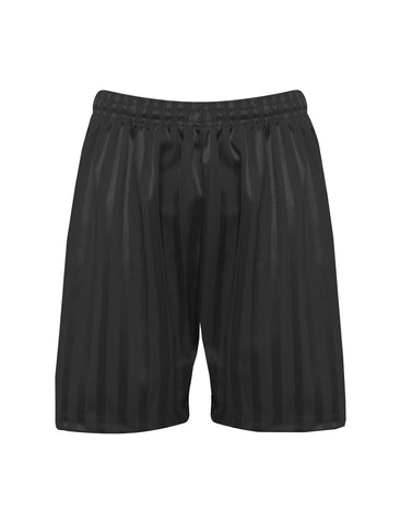 Black Zeco P.E. Shorts