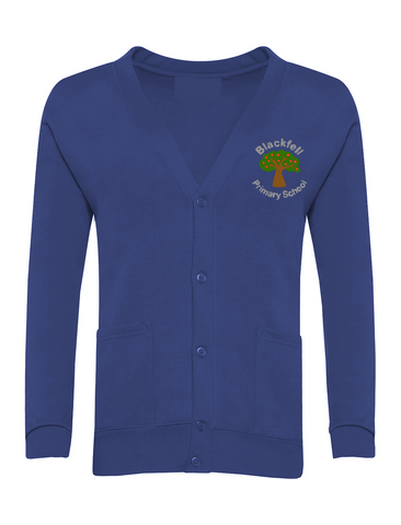 Blackfell Primary School Royal Blue Cardigan