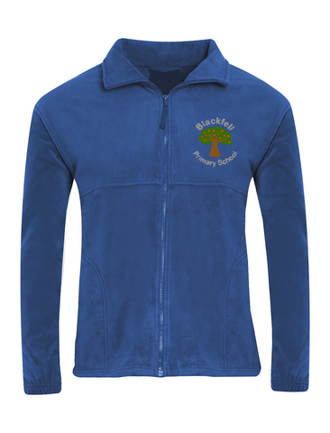 Blackfell Primary School Royal Blue Fleece Jacket