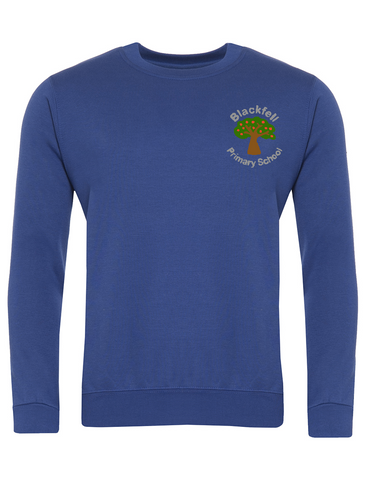 Blackfell Primary School Royal Blue Sweatshirt