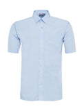 Boys Blue Short Sleeve Shirts