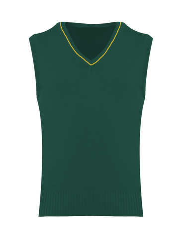 St Michael's R.C. Primary School - Newcastle Bottle Green with Gold Stripe Tank Top