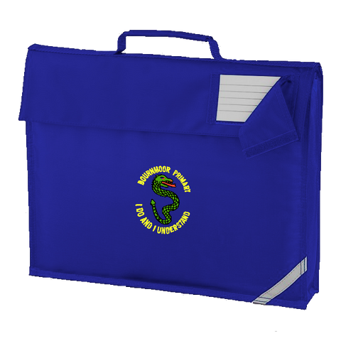 Bournmoor Primary School Royal Blue Book Bag