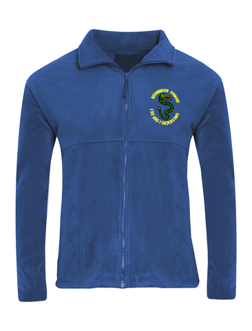 Bournmoor Primary School Royal Blue Fleece Jacket