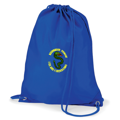 Bournmoor Primary School Royal Blue Gym Bag