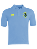 Bournmoor Primary School Sky Blue Polo With Initials