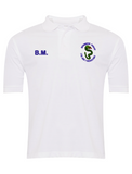 Bournmoor Primary School White Polo With Initials