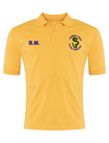 Bournmoor Primary School Yellow Polo With Initials