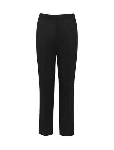 Wellfield School Black Fulham Junior Flat Front Boys Trouser