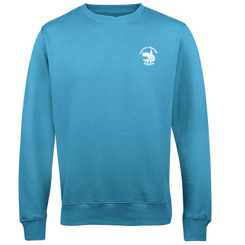 Cestria Primary School Hawaiian Blue Sweatshirt