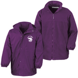 Cestria Primary School Purple Waterproof Coat