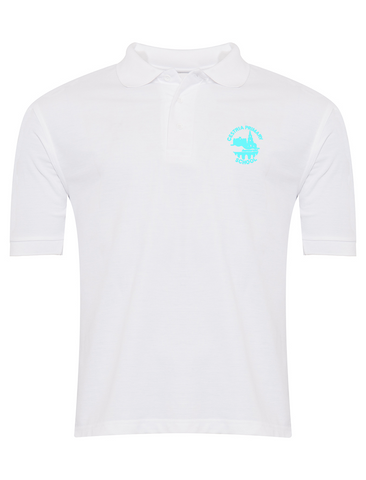 Cestria Primary School White Polo
