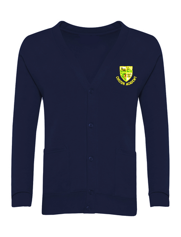 Chilton Academy Navy Cardigan