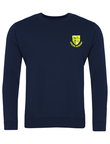 Chilton Academy Navy Crew Neck Sweatshirt