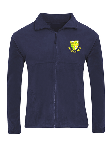 Chilton Academy Navy Fleece Jacket