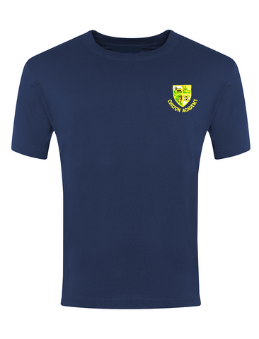 Chilton Academy Navy P.E. T-Shirt