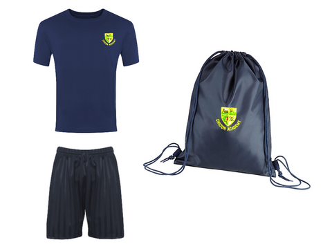 Chilton Academy Navy P.E. Package