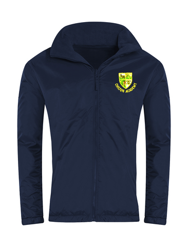 Chilton Academy Navy Showerproof Jacket