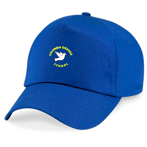 Columbia Grange School Royal Blue Peaked Cap