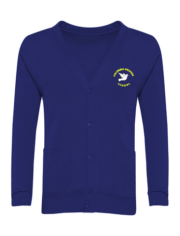 Columbia Grange School Royal Blue Cardigan