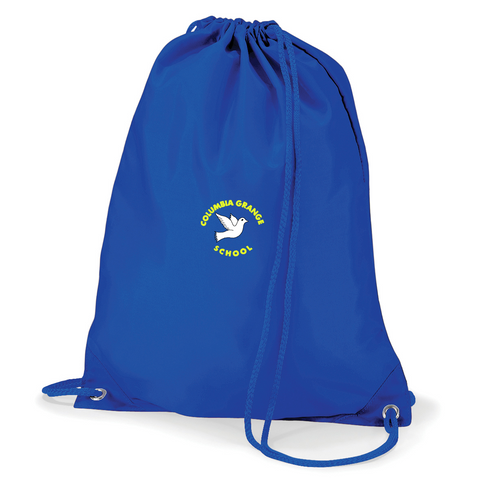 Columbia Grange School Royal Blue Gym Bag