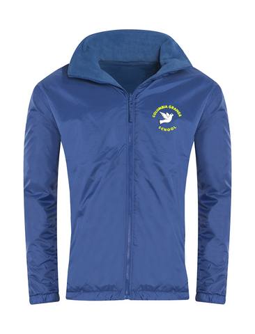 Columbia Grange School Royal Blue Showerproof Jacket