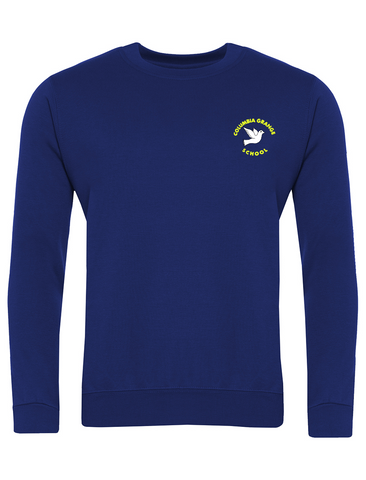 Columbia Grange School Royal Blue Sweatshirt