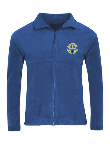 Dame Dorothy Primary School Royal Blue Fleece Jacket