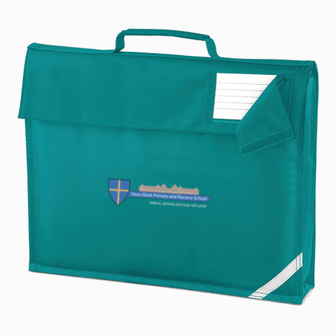 Dean Bank Primary and Nursery School Emerald Book Bag