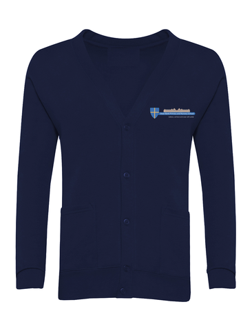 Dean Bank Primary and Nursery School Navy Cardigan
