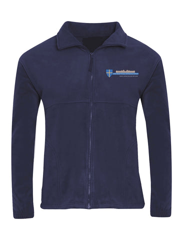 Dean Bank Primary and Nursery School Navy Fleece Jacket