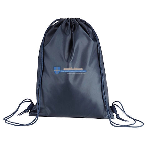 Dean Bank Primary and Nursery School Navy Gym Bag