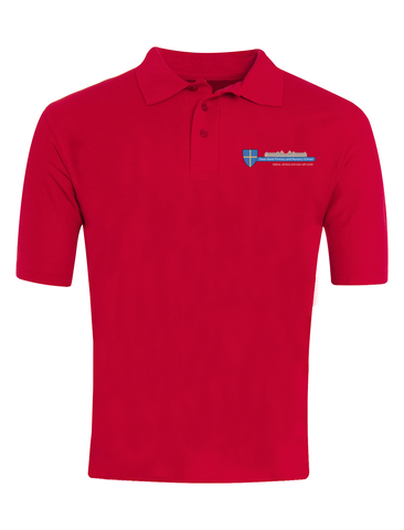 Dean Bank Primary and Nursery School Red Polo
