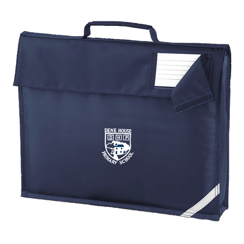 Dene House Primary School Navy Book Bag