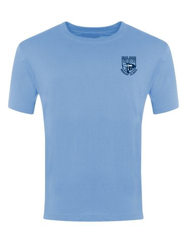 Dene House Primary School Sky Blue P.E. T-Shirt