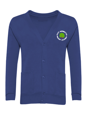 East Herrington Primary Academy Royal Blue Cardigan