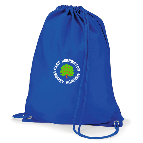 East Herrington Primary Academy Royal Blue Gym Bag