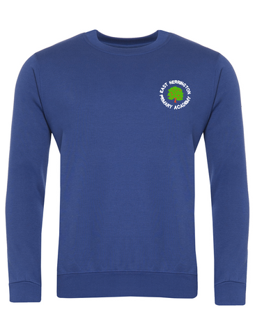 East Herrington Primary Academy Royal Blue Sweatshirt