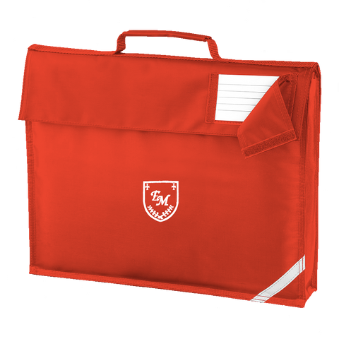 English Martyrs R.C. Primary School Red Book Bag