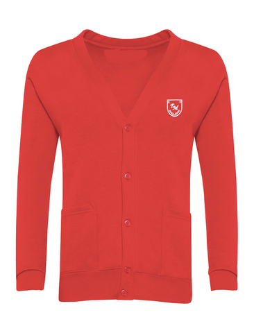 English Martyrs R.C. Primary School Red Cardigan